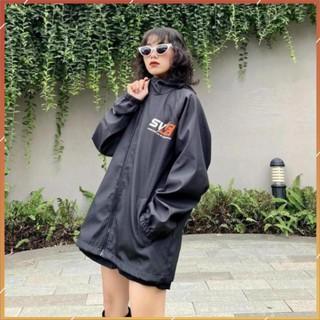 1hitshop Áo khoác dù jacket Swe logo nam nữ, áo khoác dù SWE logo unisex cực đẹp như hình