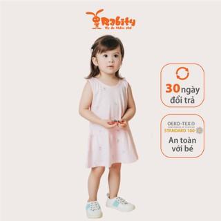 Đầm thun sát nách bé gái Rabity 8580.8584