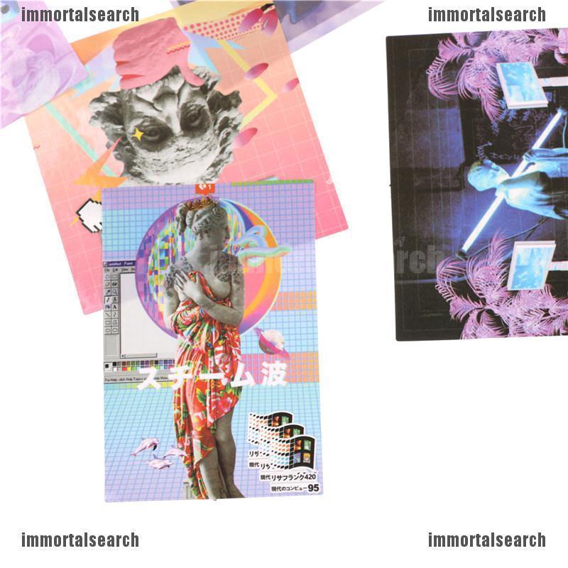 Set 10 Miếng Dán Trang Trí Bằng Nhựa Pvc Cao Cấp