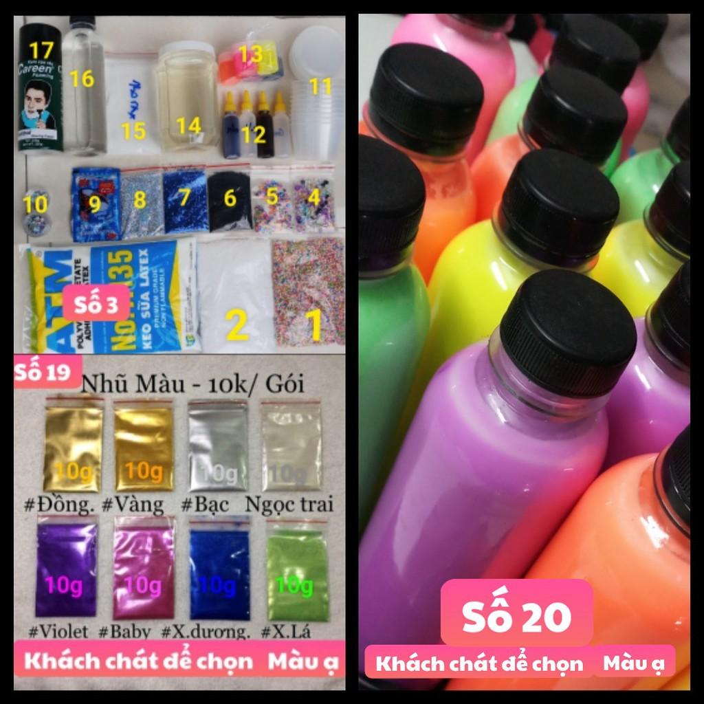 Bộ Kit Bắt Đầu Làm Slime - bán lẻ từng món - 3094048 , 1254754717 , 322_1254754717 , 10000 , Bo-Kit-Bat-Dau-Lam-Slime-ban-le-tung-mon-322_1254754717 , shopee.vn , Bộ Kit Bắt Đầu Làm Slime - bán lẻ từng món