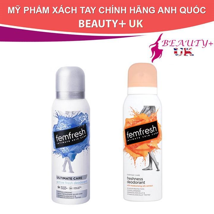 Xịt khử mùi vệ sinh phụ nữ Femfresh 125ml