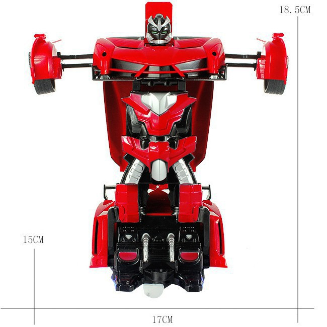 [ƯU ĐÃI MỚI]_ ĐồChơi Cho Bé - Ô Tô Biến Hình Thành Robot Transformers Điều Khiển Từ Xa - Ô...