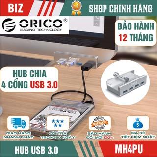 [Mã ELFLASH5 giảm 20K đơn 50K] HUB chia 4 cổng USB 3.0 ORICO MH4PU - Chính hãng bảo hành 12 tháng !!!