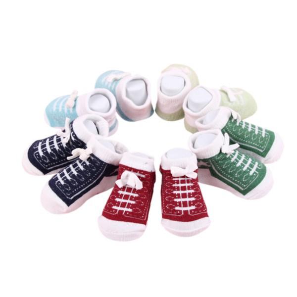 Tất thiết kế hình đôi giày chất liệu mềm mại cho bé từ 0-6 tháng - 13928598 , 1639296510 , 322_1639296510 , 77000 , Tat-thiet-ke-hinh-doi-giay-chat-lieu-mem-mai-cho-be-tu-0-6-thang-322_1639296510 , shopee.vn , Tất thiết kế hình đôi giày chất liệu mềm mại cho bé từ 0-6 tháng
