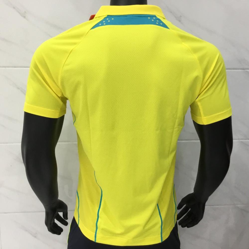 [Ưu đãi] Áo thể thao Lining AAYK287 Vàng chính hãng, chất vải mát, khô thoáng, mẫu mã đẹp, khuyến mãi lớn bán chạy