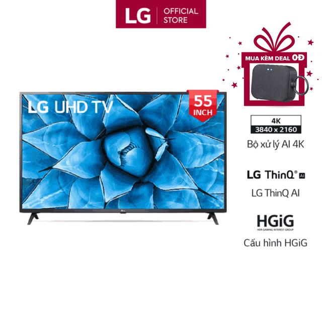 Miễn phí lắp đặt_Smart Tivi LG 55 Inch UHD 4K 55UN7300PTC Model 20120 – Có Magic Remote (Chính Hãng)