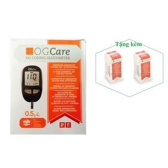 Máy đo đường huyết OGCare. + Tặng 2 hộp que thử 25 test - 10021828 , 180530079 , 322_180530079 , 829000 , May-do-duong-huyet-OGCare.-Tang-2-hop-que-thu-25-test-322_180530079 , shopee.vn , Máy đo đường huyết OGCare. + Tặng 2 hộp que thử 25 test