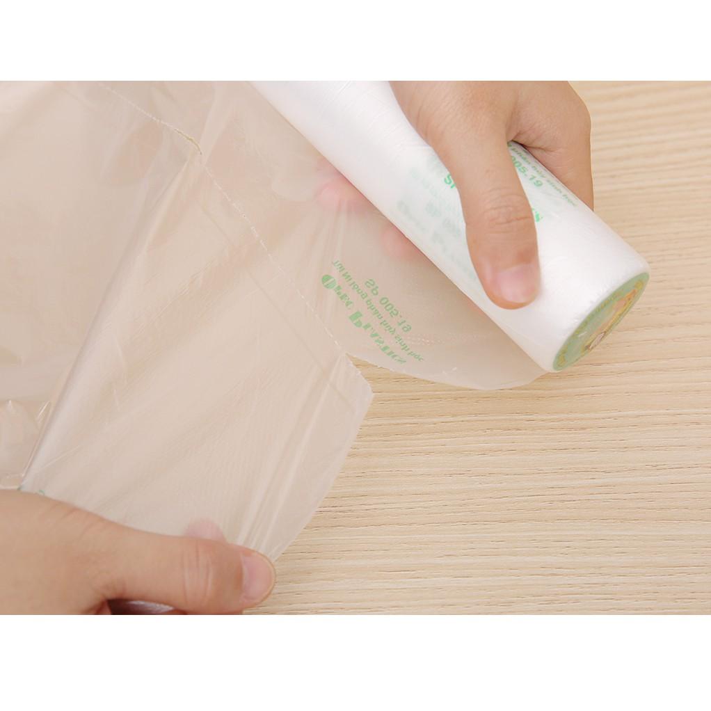 Cuộn 100 Túi Đựng Thực Phẩm Tự Huỷ Sinh Học Green Eco 25x35cm - Túi đựng  thực phẩm Nhãn hàng OPEC Plastics   DienMayHoangNgan.com