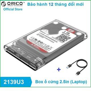 HDD Box ORICO 2139U3 2.5 Inch USB 3.0 – Bảo Hành 12 Tháng