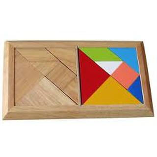 Đồ chơi gỗ – Tangram đôi ( có sách hướng dẫn) winwintoys