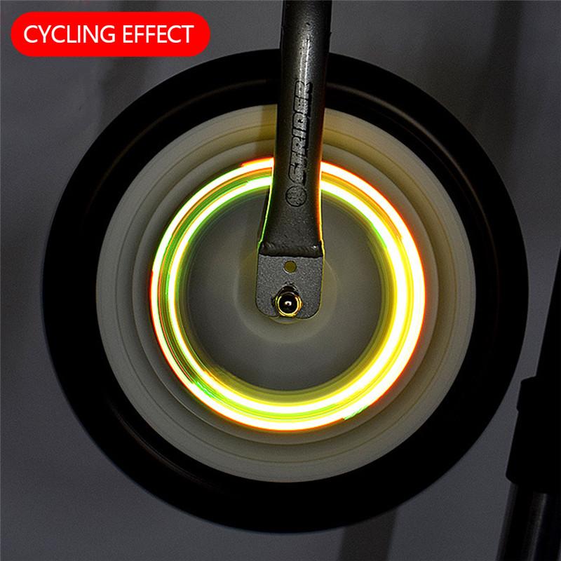Đèn Led Thông Minh Tự Động Tắt / Mở Gắn Đuôi Xe Đạp Tiện Dụng