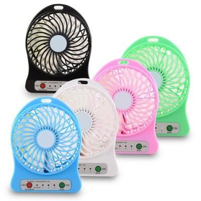 Quạt mini tích điện 3 cấp độ gió cực mát