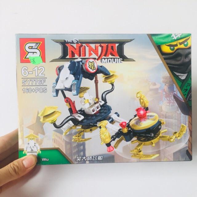 Bộ LEGO Xếp Hình Ninjago Lốc Xoáy SY776F Gồm 160 Chi Tiết. Lego Ninjago Lắp Ráp Đồ Chơi Cho Bé - 3045548 , 1264174884 , 322_1264174884 , 68000 , Bo-LEGO-Xep-Hinh-Ninjago-Loc-Xoay-SY776F-Gom-160-Chi-Tiet.-Lego-Ninjago-Lap-Rap-Do-Choi-Cho-Be-322_1264174884 , shopee.vn , Bộ LEGO Xếp Hình Ninjago Lốc Xoáy SY776F Gồm 160 Chi Tiết. Lego Ninjago Lắp Rá
