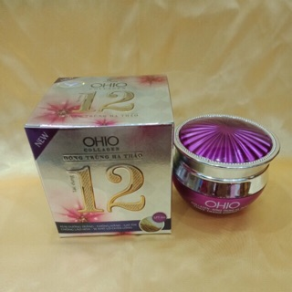 Kem dưỡng trắng OHIO collagen 12 tác dụng 30g thumbnail