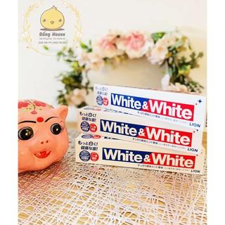 KEM ĐÁNH RĂNG LÀM TRẮNG RĂNG WHITE & WHITE 150g