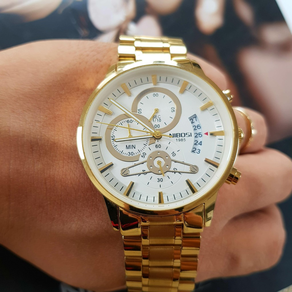 [Tặng vòng tay]Đồng hồ nam NIBOSI chính hãng NI2309-1.08A thời trang cao cấp