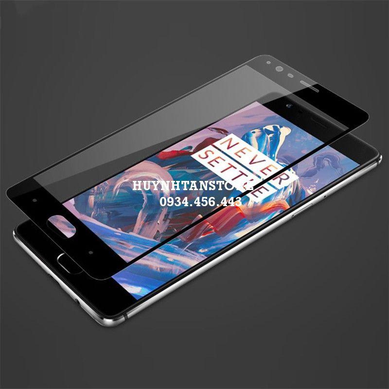 OnePlus 3/3T _ Cường lực full màn 2,5d chống hở mép màn hình