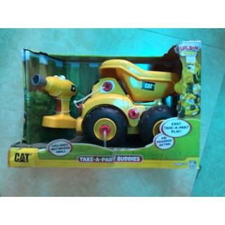 Đồ chơi lắp ráp CAT – xe ben và dụng cụ lắp ráp CAT80466