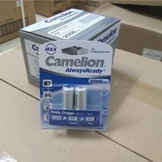 Pin sạc AA AAA Camelion 2700,2500, 2300, 1100, D900 mAh 1.2V (1 vỉ 2 viên)