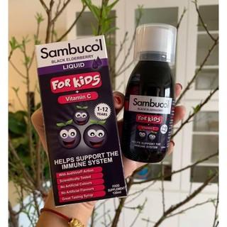 Tăng Sức Đề Kháng Sambucol For Kids 120ml
