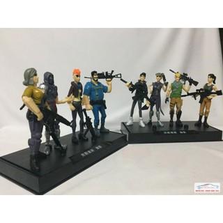 Mô hình Nhân vật Games 10cm bộ 10NV
