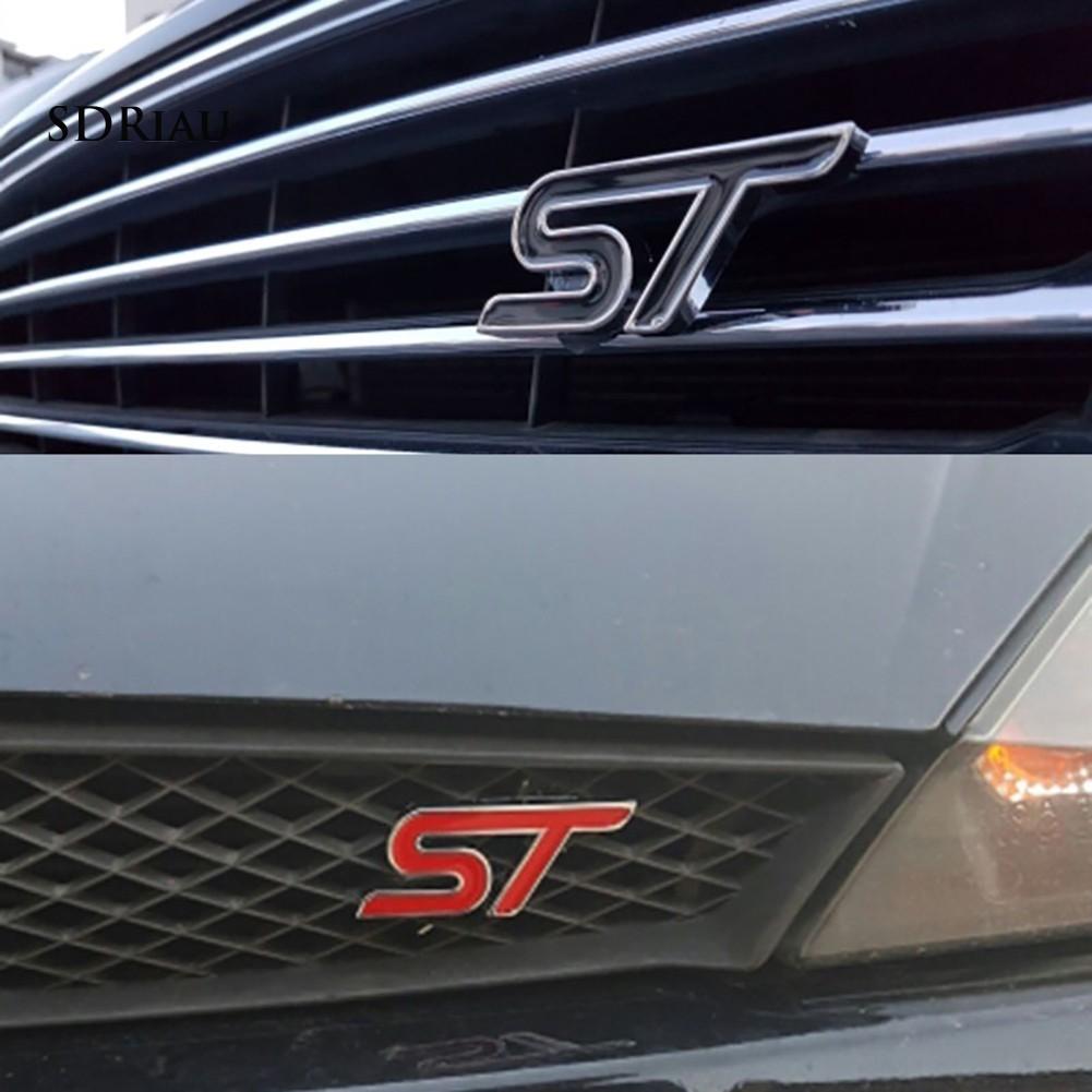 Miếng Dán Kim Loại 3d Trang Trí Xe Hơi Ford Focus Fiesta Mondeo