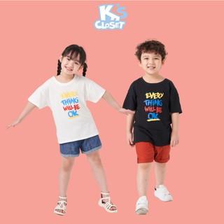 Áo Phông K s Closet Cộc Tay Cho Bé Trai Và Bé Gái (2 - 9 Tuổi) E025ONS thumbnail