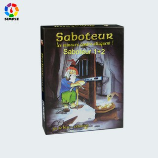 [Mã TOYDEC hoàn 20K xu đơn 50K] Saboteur Board Game 1+2 Version Bộ thẻ đồ chơi đào vàng Saboteur (cơ bản + mở rộng) vui nhộn tiện dụng thumbnail
