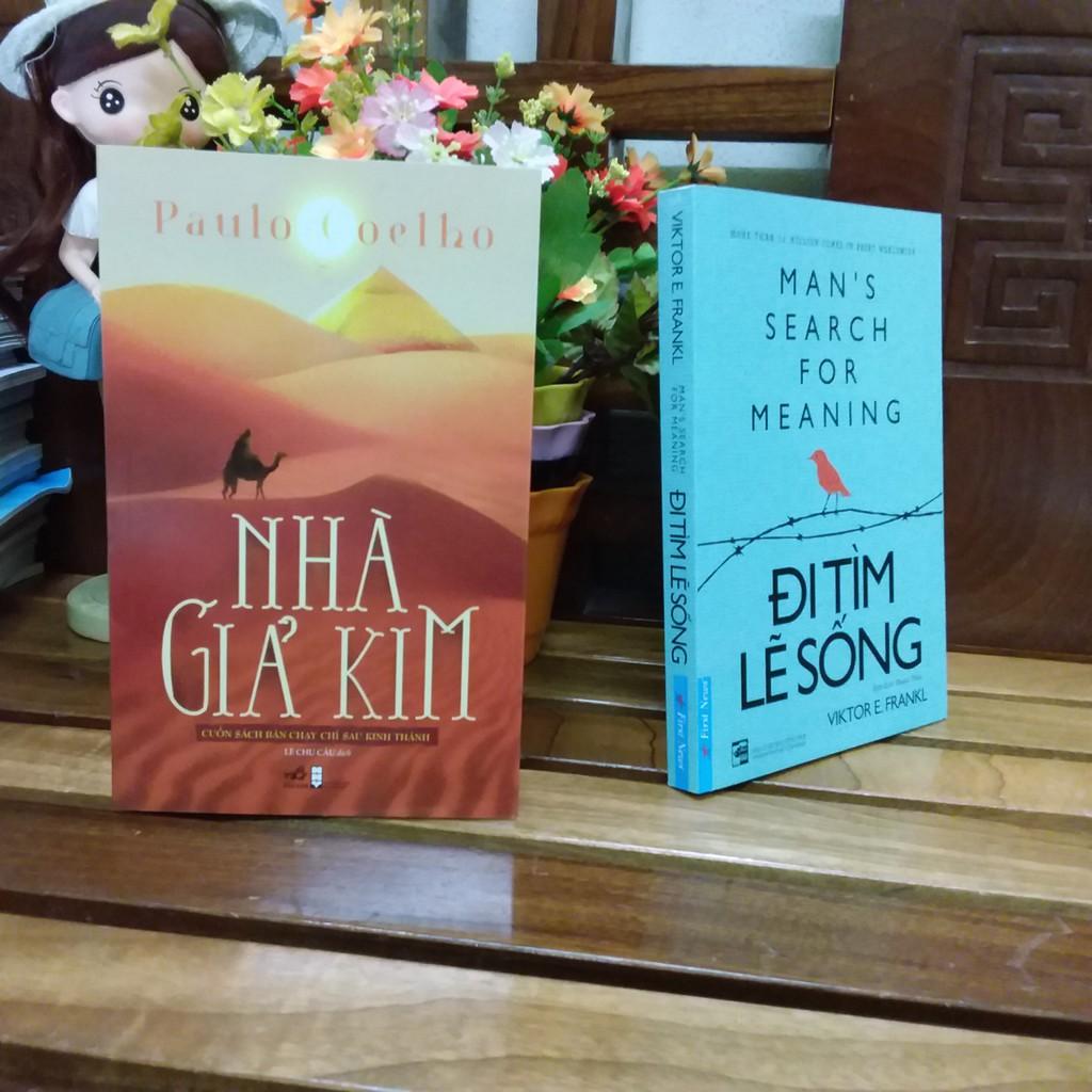 ( Sách Thật ) Combo 2 Cuốn Sách Đi Tìm Lẽ Sống và Nhà Giả Kim - 8935235213746 - 8935086839553
