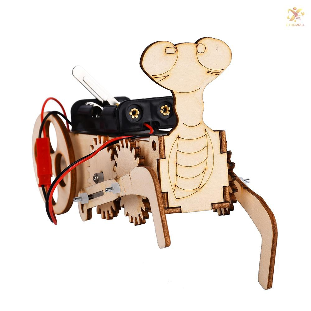 COD E&T Interesting Scientific Experiment Mantis Trolley Model Technology Small-scale Manufacturing Handmade Material