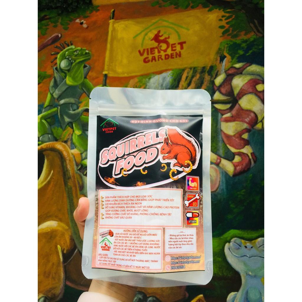 Bột dinh dưỡng dành cho Sóc - Sóc Bay- Vietpetgarden | Shopee Việt Nam