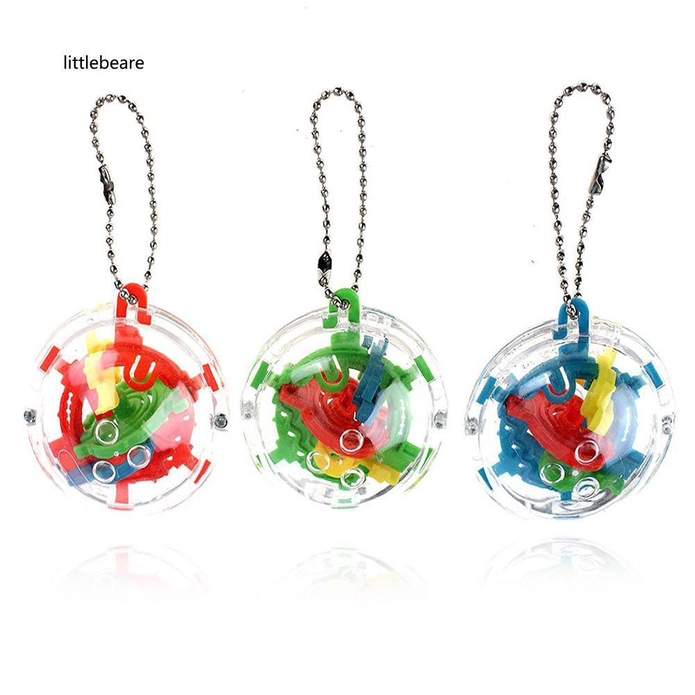 LLBA_Maze Ball Intelligence Develop 3D Puzzle Game Toy Kids Gift Stress Release