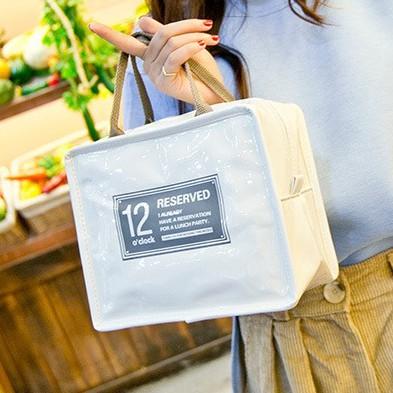 Túi đựng hộp cơm trưa chống thấm nước làm từ da