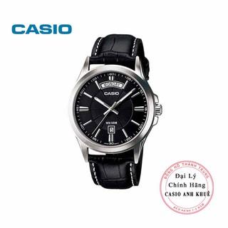 Đồng hồ nam Casio MTP-1381L-1AVDF dây da