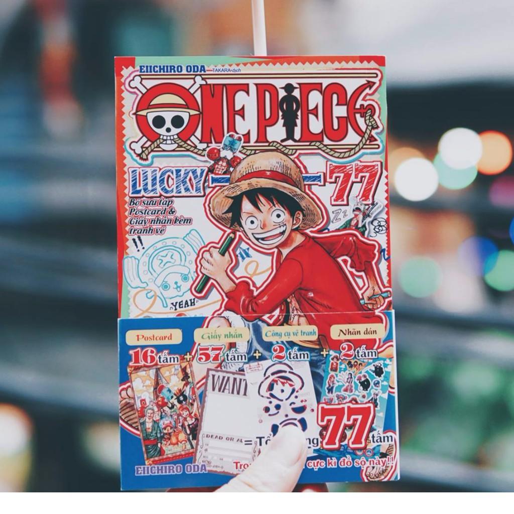 Truyện tranh One Piece Lucky 77 - 2636584 , 710770882 , 322_710770882 , 77000 , Truyen-tranh-One-Piece-Lucky-77-322_710770882 , shopee.vn , Truyện tranh One Piece Lucky 77