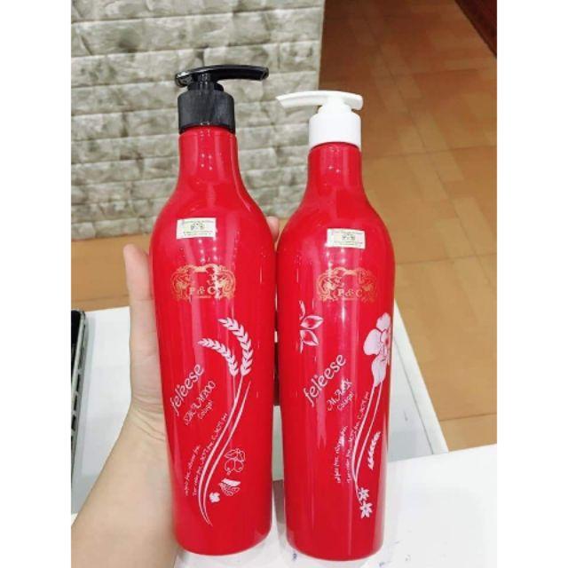 Dầu gội và xả colagen Feleese | Shopee Việt Nam