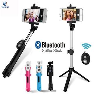 Gậy Chụp Ảnh Selfie Kết Nối Bluetooth Kèm Phụ Kiện