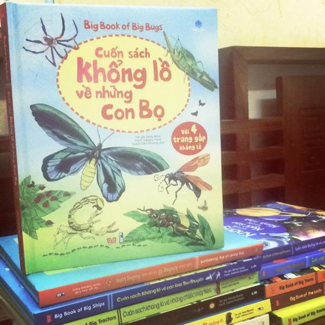 Big book -Cuốn sách khổng lồ về những con bọ ( giá bìa 150.000 đ)