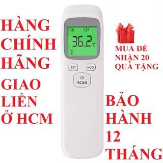 Nhiệt kế hồng ngoại nhiệt kế điện tử đo sữa nước thân nhiệt không tiếp xúc cảnh báo sốt an toàn cho bé