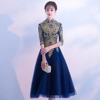 Long dress fashion wedding dress