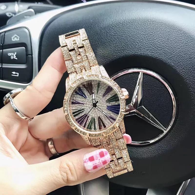 Đồng hồ nữ Mashali hàng chính hãng dây kim loại cao cấp
