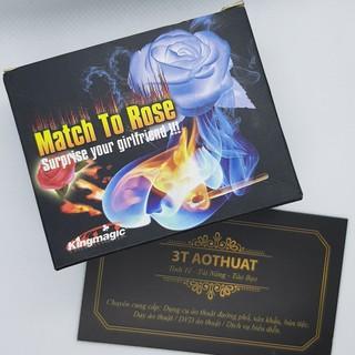 Đồ chơi ảo thuật tán gái diêm ra bông hồng + DVD hướng dẫn miễn phí