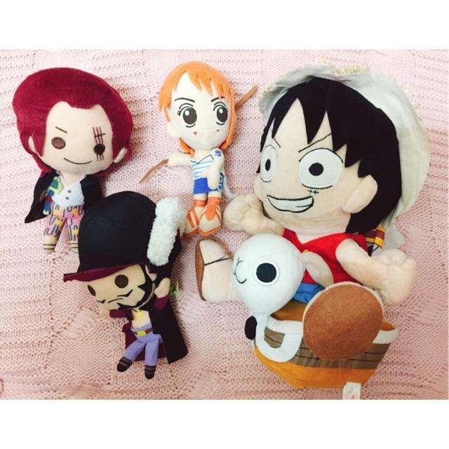 Set Gấu One Piece (ib gửi ảnh nhân vật)