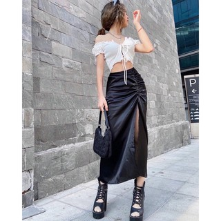 Chân Váy Xẻ Nhún Hông (TOMIE SKIRT) thumbnail