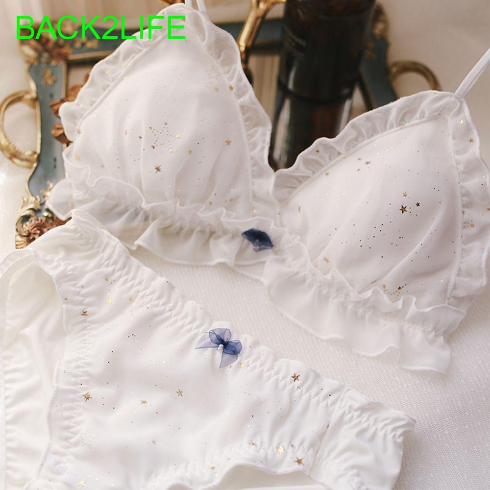 Bộ đồ lót nữ in hình ngôi sao gợi cảm