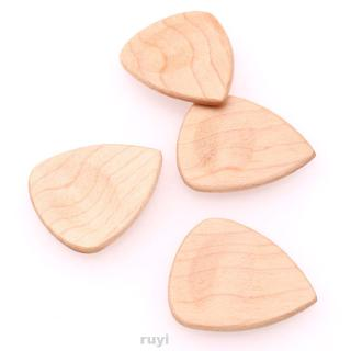 Accessories Electric Heart Shaped Maple Wood Polished Guitar Pick