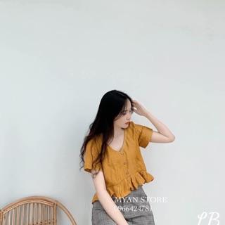Áo somi hoạ tiết ( thu hien) thumbnail