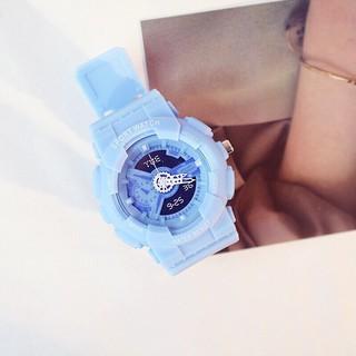 Đồng hồ thời trang nam nữ Candycat chạy kim giả điện tử mẫu mới MS445