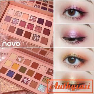 Bảng phấn mắt Novo 18 màu Cinderella Lấp lánh cực sang chảnh siêu xinh