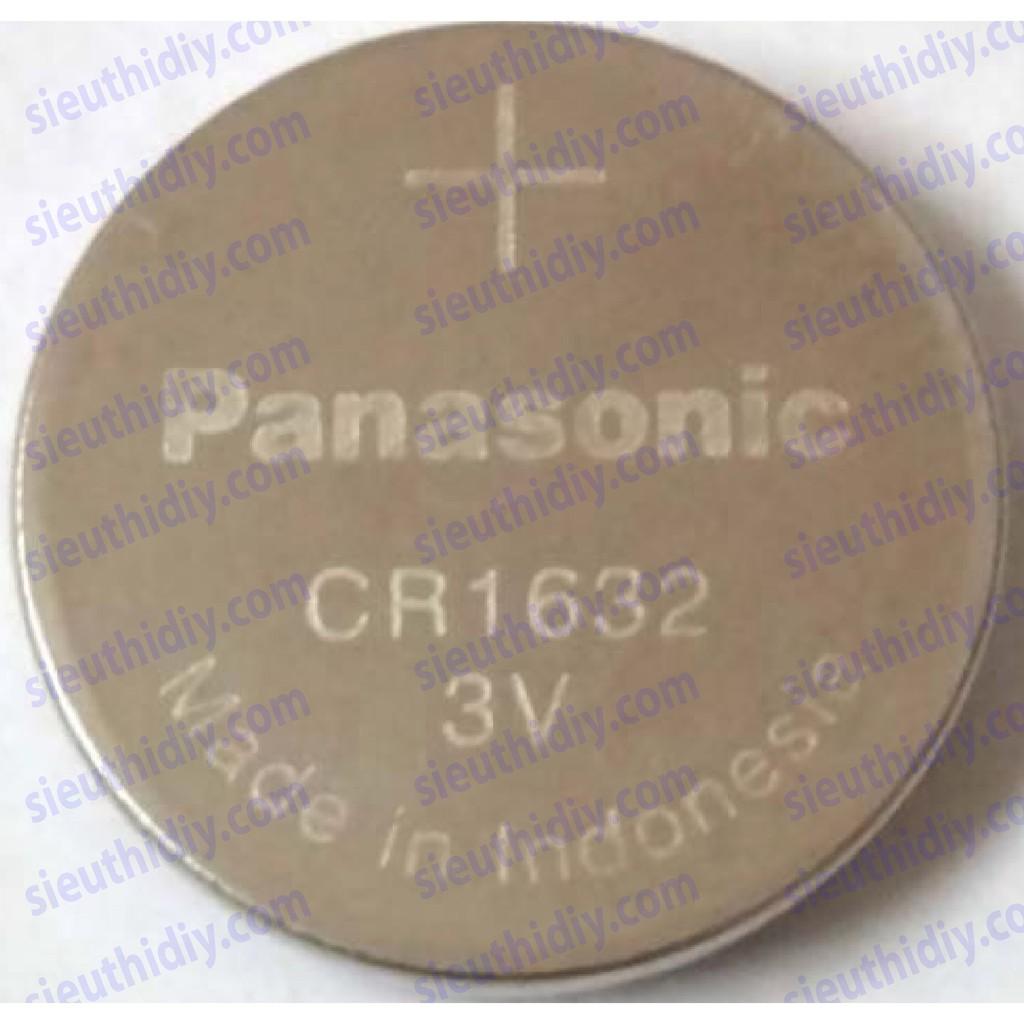 Pin CR1632 Panasonic Lithium cho điều khiển ô tô Toyota Camry, đồ pin
